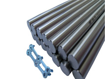 Medical titanium bar
