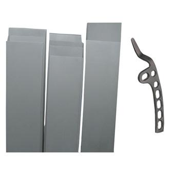 Titanium plate(sheet) for internal bone fixation