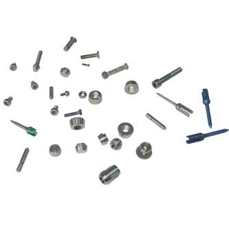 Titanium standard parts