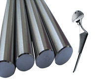 Medical titanium bar/rod