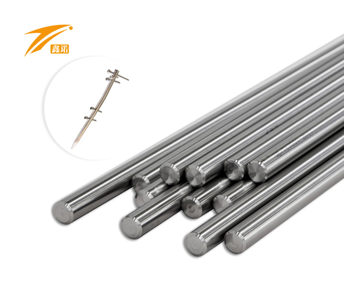 Titanium Bar for Bone Screw